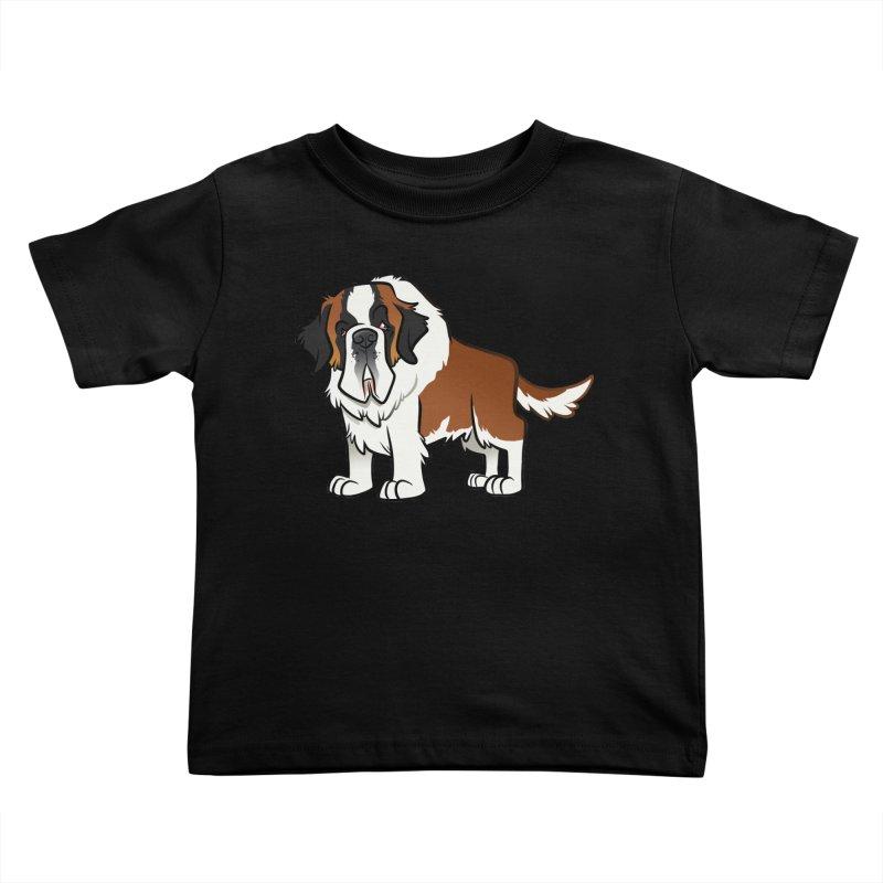 St. Bernard Kids Toddler T-Shirt by binarygod's Artist Shop