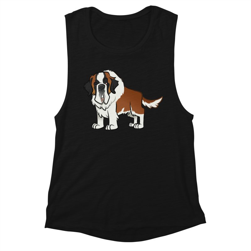 St. Bernard Women's Tank by binarygod's Artist Shop