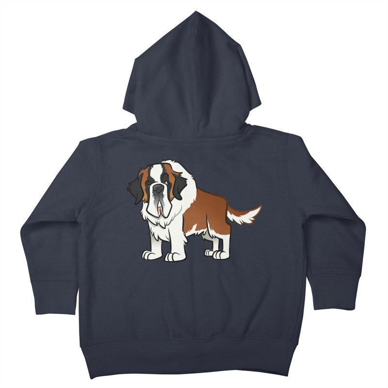 St. Bernard Kids Toddler Zip-Up Hoody by binarygod's Artist Shop