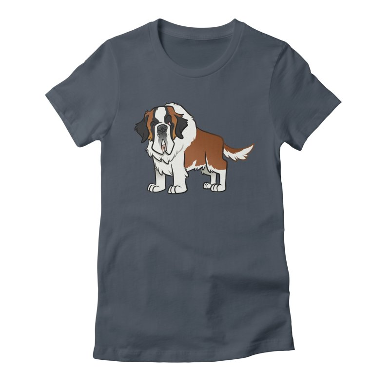 St. Bernard Women's T-Shirt by binarygod's Artist Shop