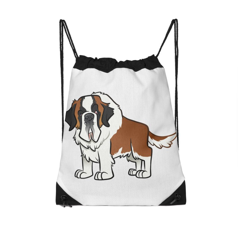 St. Bernard Accessories Bag by binarygod's Artist Shop
