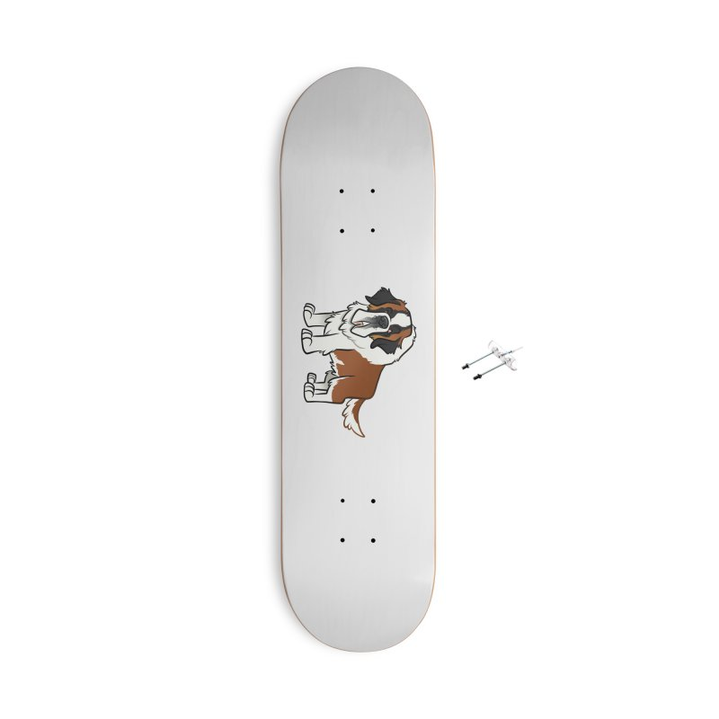 St. Bernard Accessories Skateboard by binarygod's Artist Shop