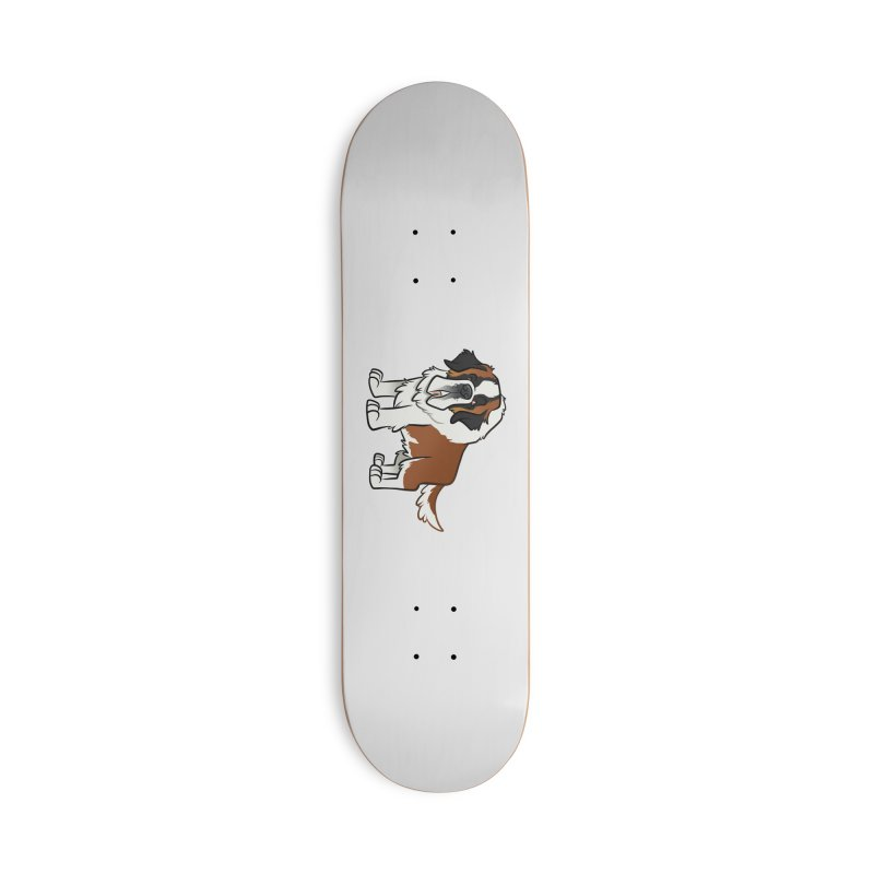 St. Bernard Accessories Deck Only Skateboard by binarygod's Artist Shop
