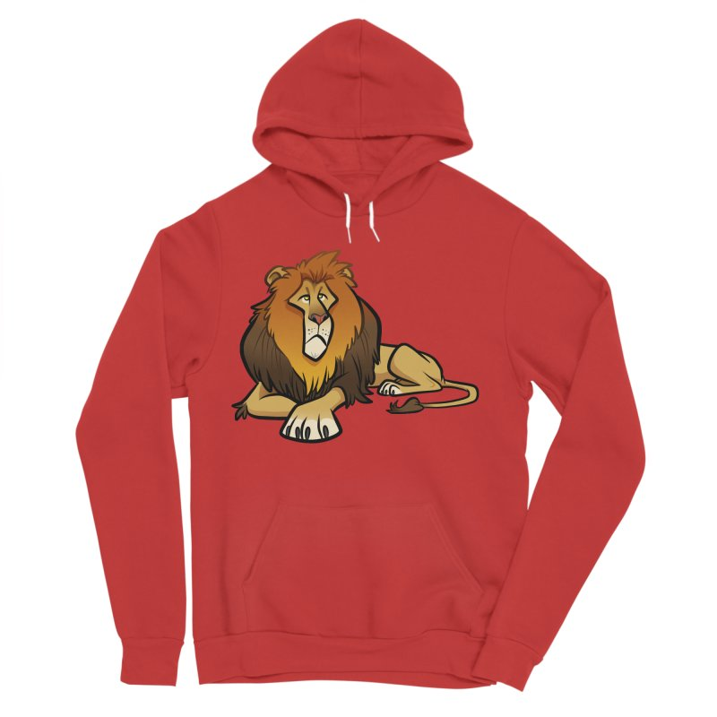 Lion Men's Pullover Hoody by binarygod's Artist Shop
