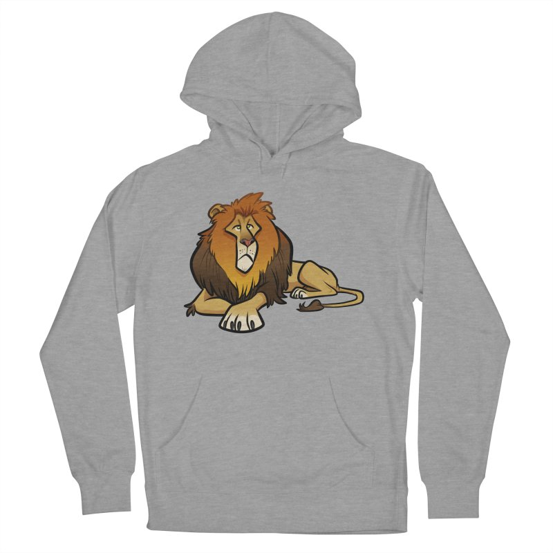 Lion Women's Pullover Hoody by binarygod's Artist Shop