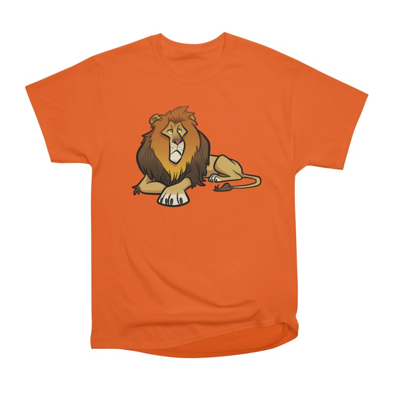 Lion Men's T-Shirt by binarygod's Artist Shop