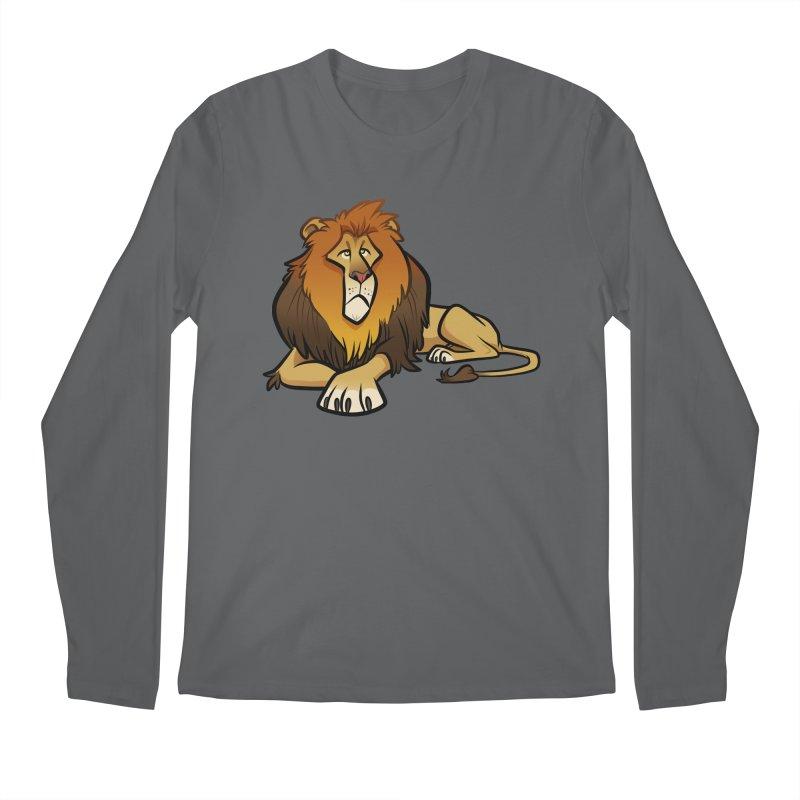 Lion Men's Longsleeve T-Shirt by binarygod's Artist Shop
