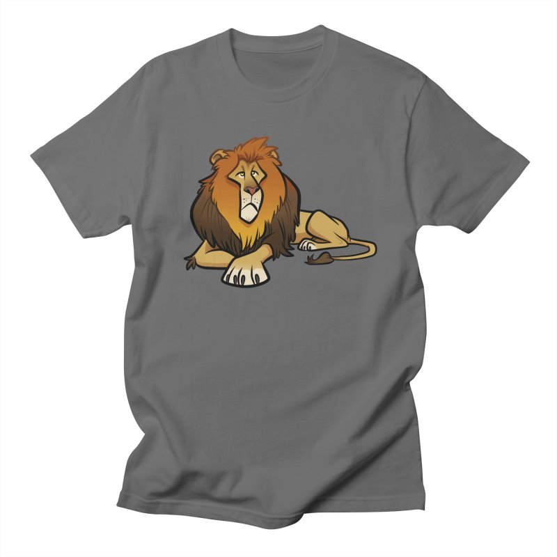 Lion Men's T-Shirt by binarygod's Artist Shop