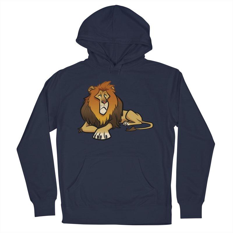 Lion Men's Pullover Hoody by binarygod's Artist Shop