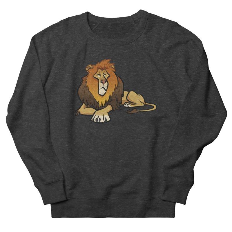 Lion Women's French Terry Sweatshirt by binarygod's Artist Shop
