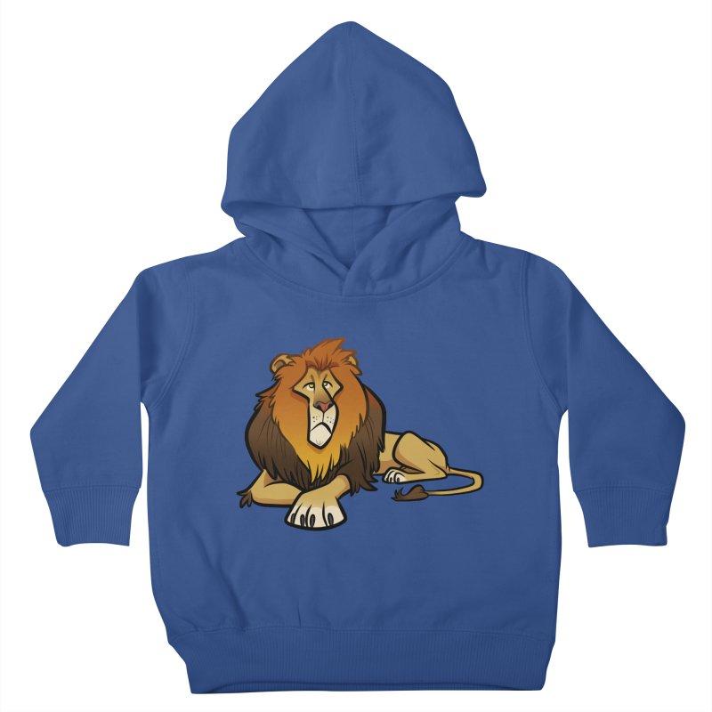Lion Kids Toddler Pullover Hoody by binarygod's Artist Shop