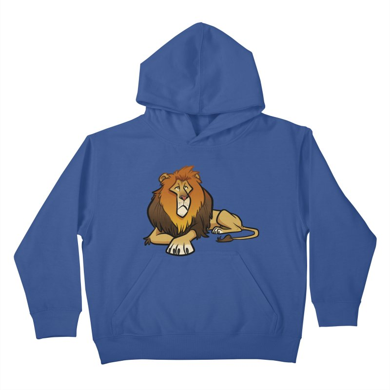 Lion Kids Pullover Hoody by binarygod's Artist Shop
