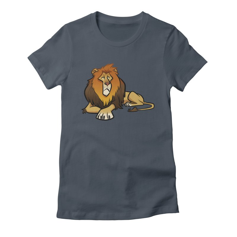 Lion Women's T-Shirt by binarygod's Artist Shop