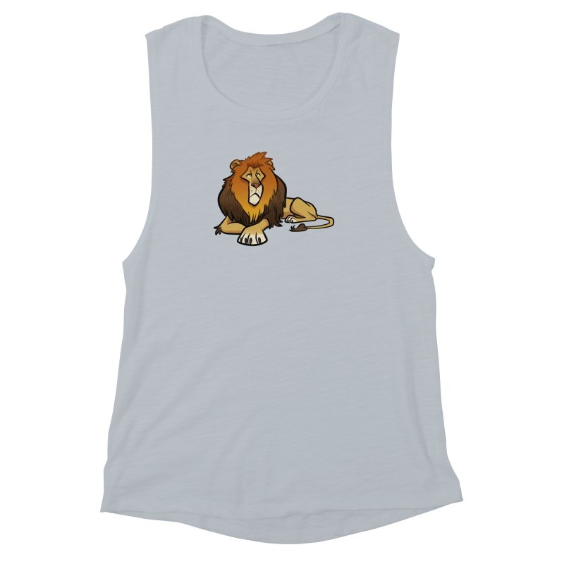 Lion Women's Muscle Tank by binarygod's Artist Shop