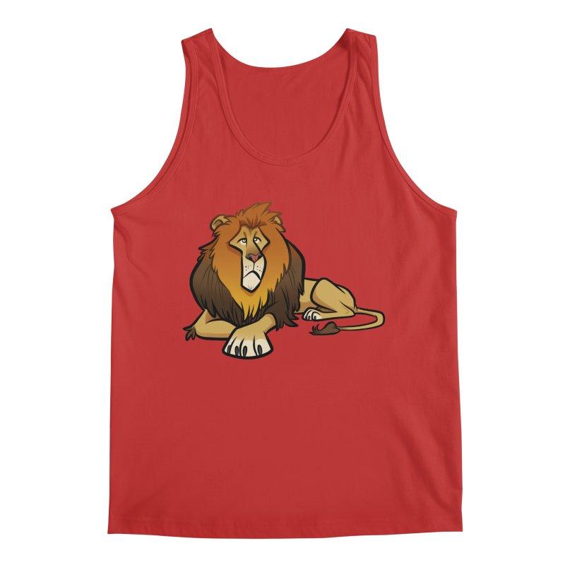 Lion Men's Regular Tank by binarygod's Artist Shop