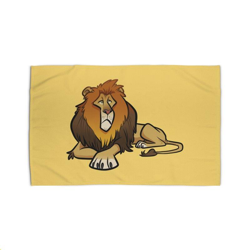 Lion Home Rug by binarygod's Artist Shop