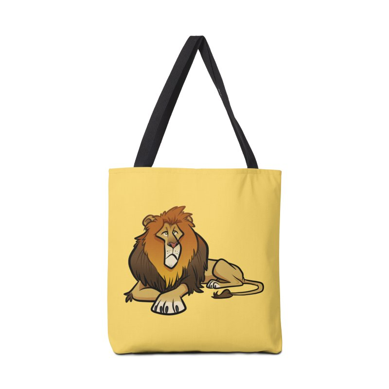 Lion Accessories Tote Bag Bag by binarygod's Artist Shop