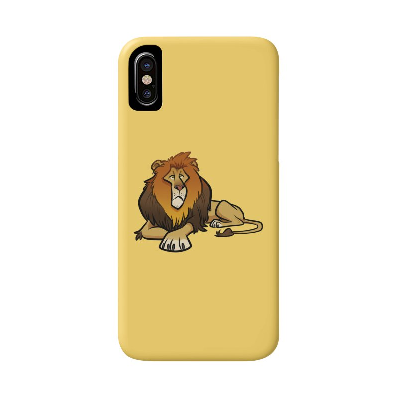 Lion Accessories Phone Case by binarygod's Artist Shop