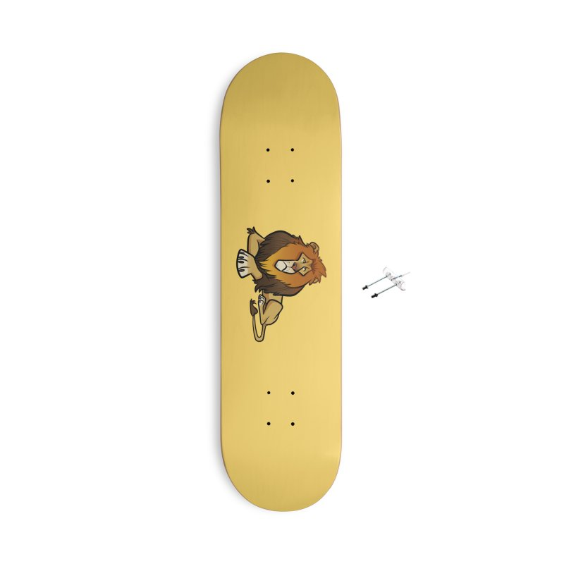 Lion Accessories With Hanging Hardware Skateboard by binarygod's Artist Shop