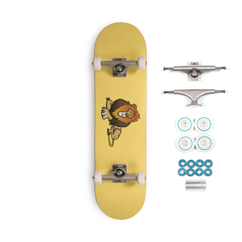 Lion Accessories Complete - Basic Skateboard by binarygod's Artist Shop