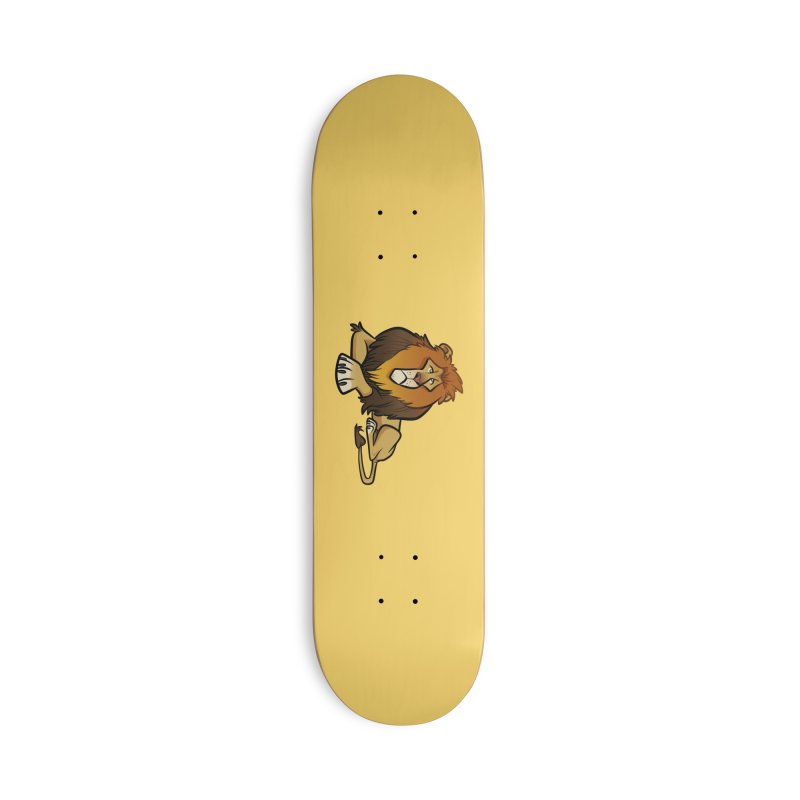 Lion Accessories Deck Only Skateboard by binarygod's Artist Shop