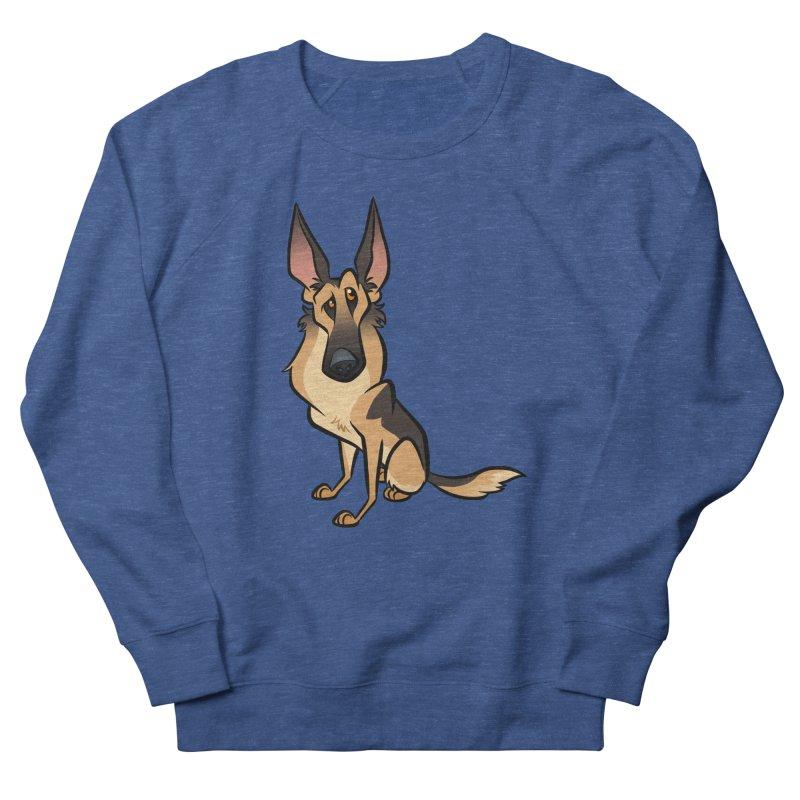 German Shepherd Men's Sweatshirt by binarygod's Artist Shop