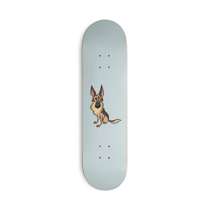 German Shepherd Accessories Deck Only Skateboard by binarygod's Artist Shop