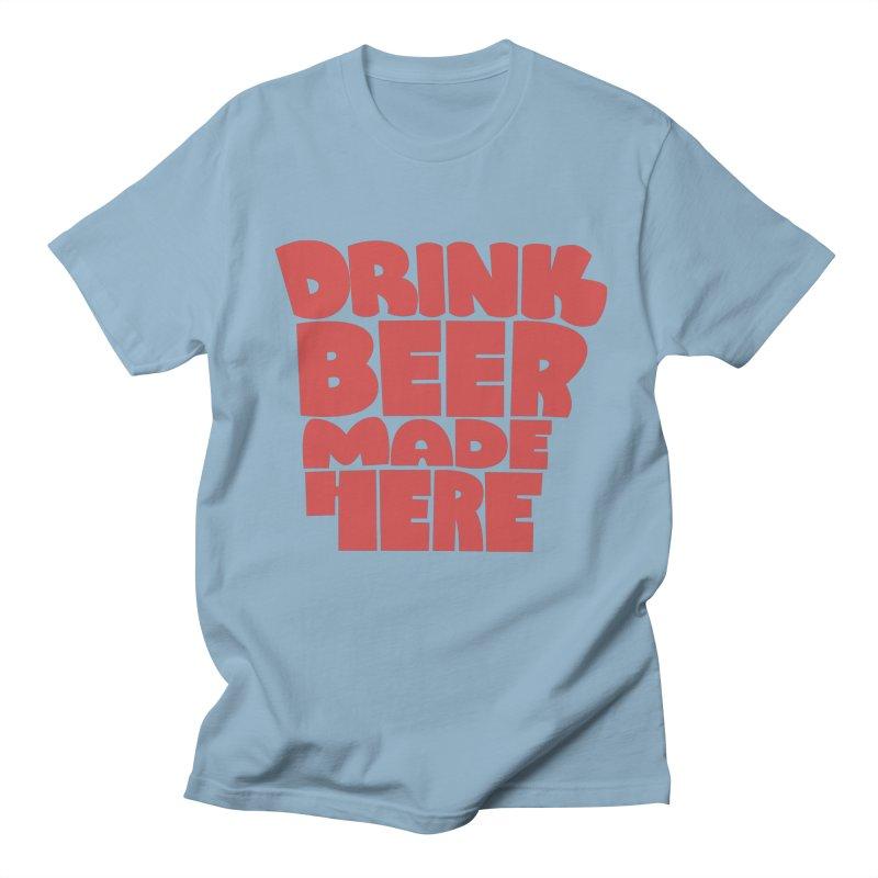 DBMH - Arkansas Men's T-Shirt by Mike Williams' Artist Shop
