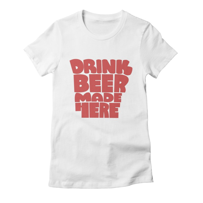 DBMH - Arkansas Women's Fitted T-Shirt by Mike Williams' Artist Shop