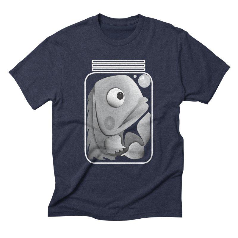 Tight Fit Men's Triblend T-Shirt by Slugamo's Threads