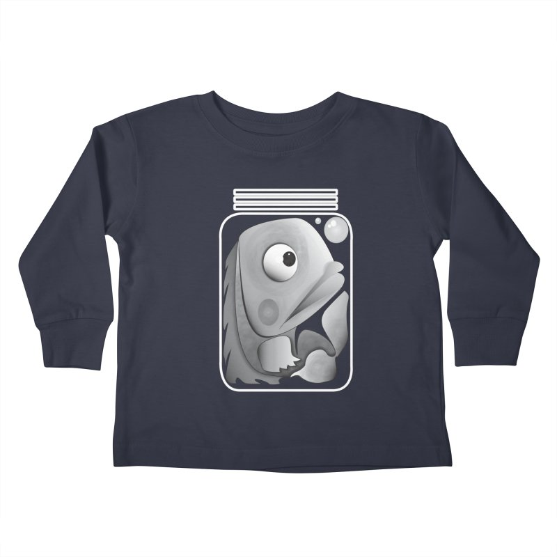 Tight Fit Kids Toddler Longsleeve T-Shirt by Slugamo's Threads