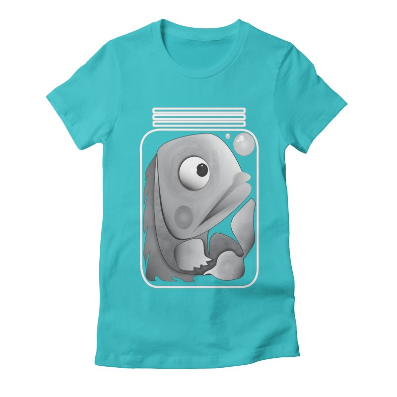 Tight Fit Women's Fitted T-Shirt by Slugamo's Threads