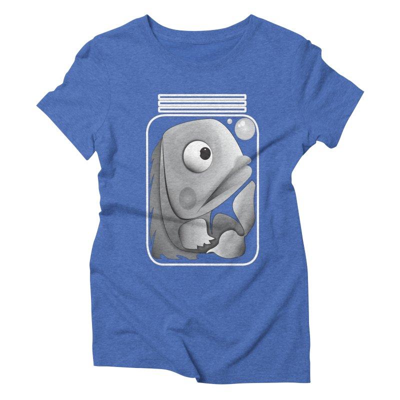Tight Fit Women's Triblend T-Shirt by Slugamo's Threads