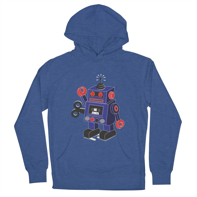 Retro Bot Men's Pullover Hoody by Slugamo's Threads