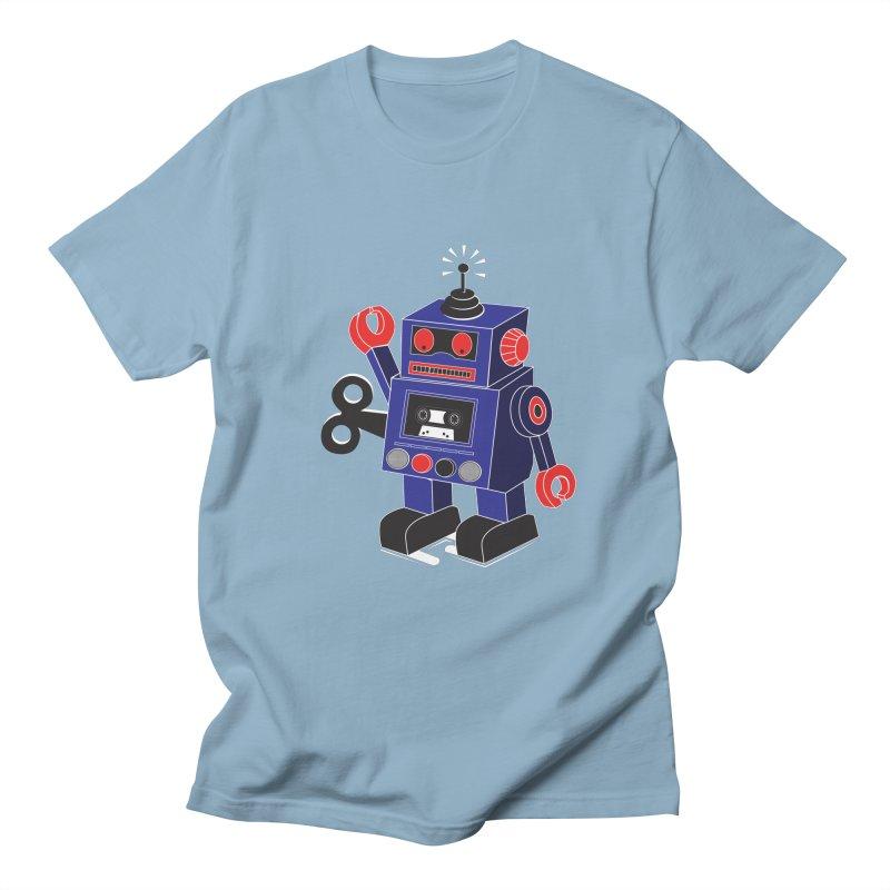 Retro Bot Men's T-Shirt by Slugamo's Threads