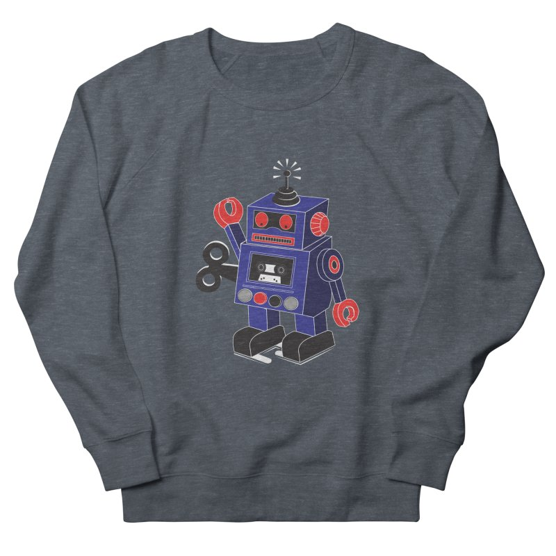 Retro Bot Women's Sweatshirt by Slugamo's Threads