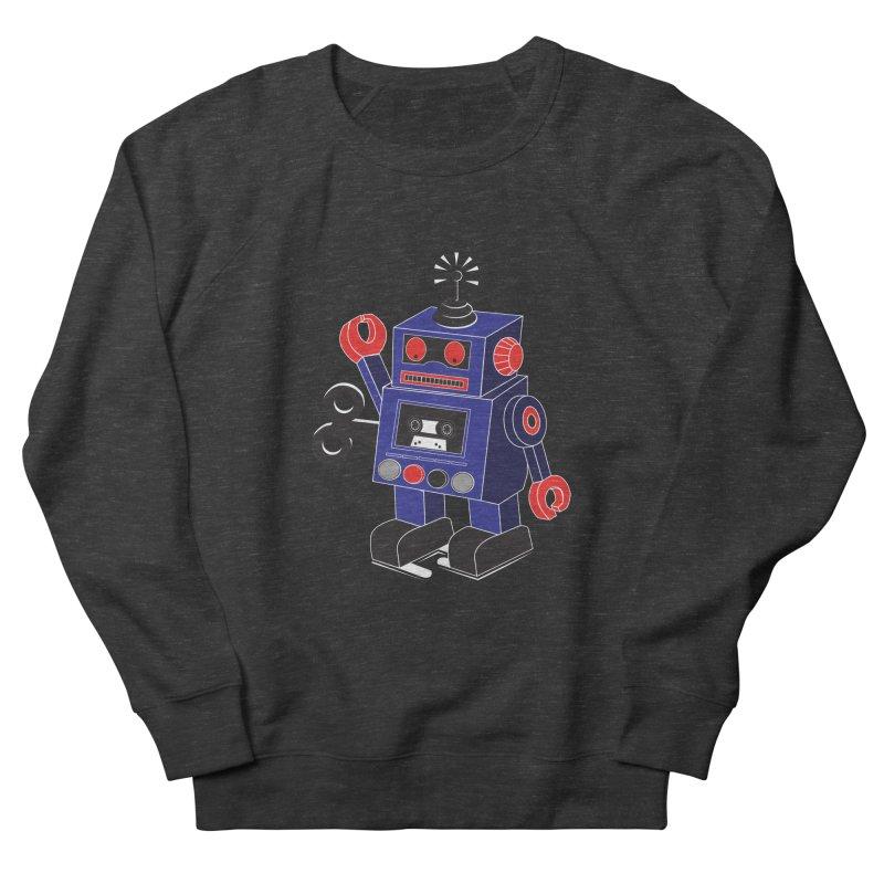 Retro Bot Men's Sweatshirt by Slugamo's Threads