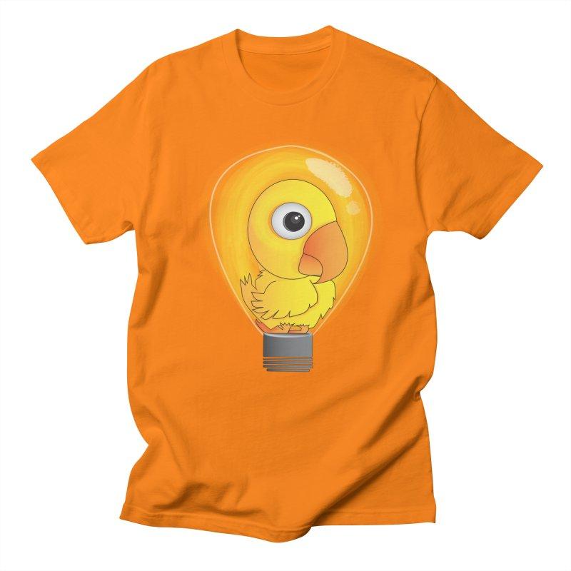 Baby Chick Men's T-Shirt by Slugamo's Threads