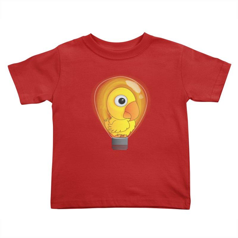 Baby Chick Kids Toddler T-Shirt by Slugamo's Threads