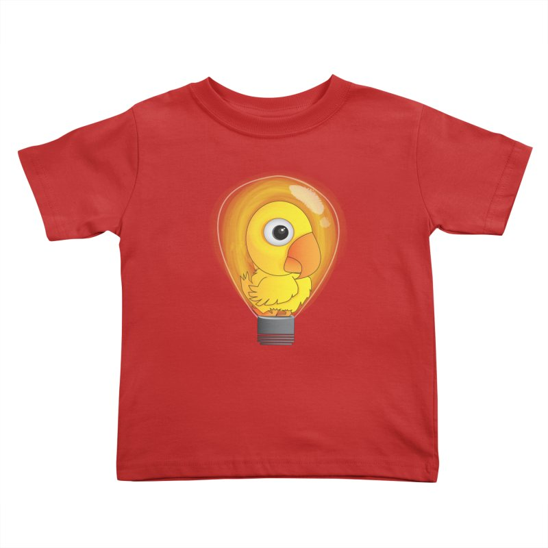 Baby Chick Kids Toddler T-Shirt by Slugamo's Threads