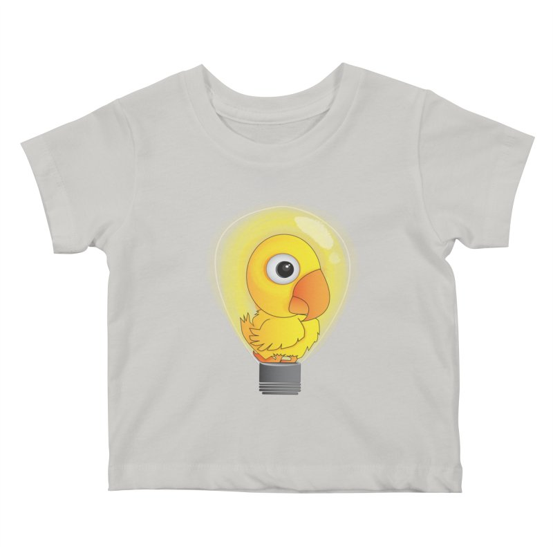 Baby Chick Kids Baby T-Shirt by Slugamo's Threads