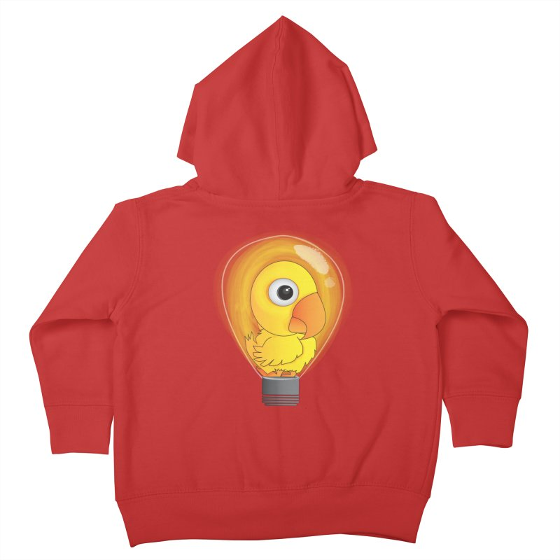 Baby Chick Kids Toddler Zip-Up Hoody by Slugamo's Threads