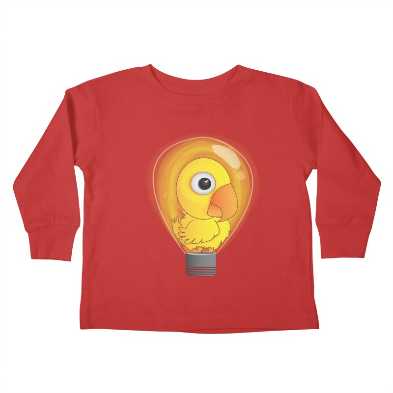 Baby Chick Kids Toddler Longsleeve T-Shirt by Slugamo's Threads