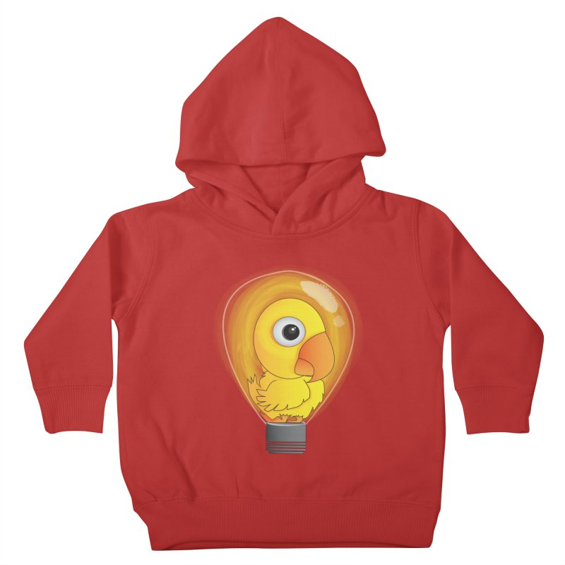 Baby Chick Kids Toddler Pullover Hoody by Slugamo's Threads