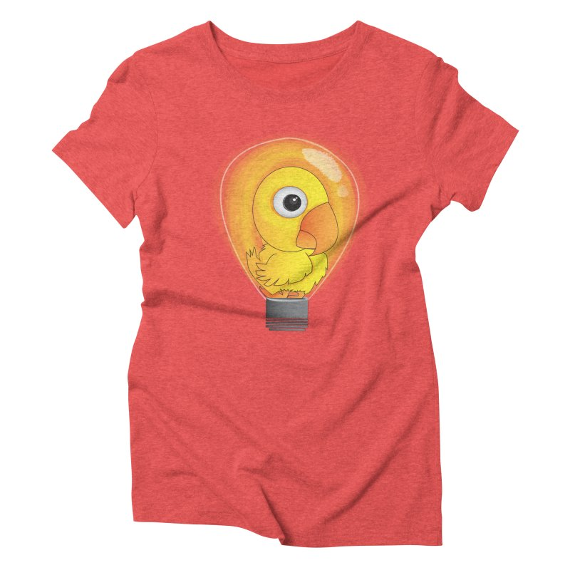 Baby Chick Women's Triblend T-Shirt by Slugamo's Threads