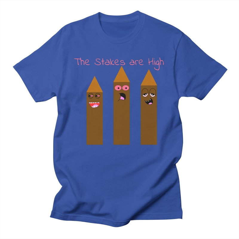 High Stakes Men's T-Shirt by Birchmark