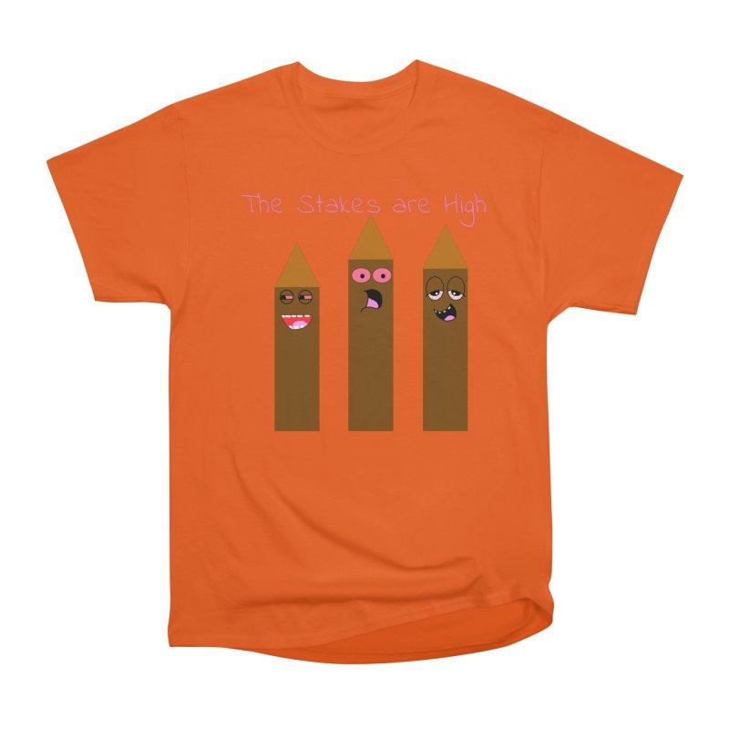 High Stakes Men's Heavyweight T-Shirt by Birchmark