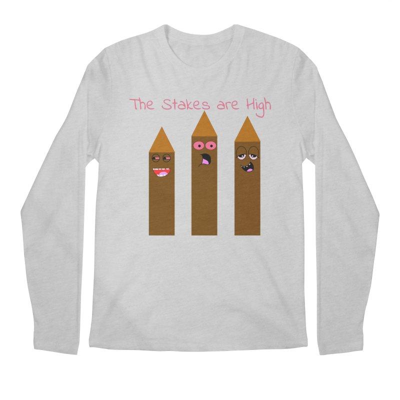 High Stakes Men's Regular Longsleeve T-Shirt by Birchmark