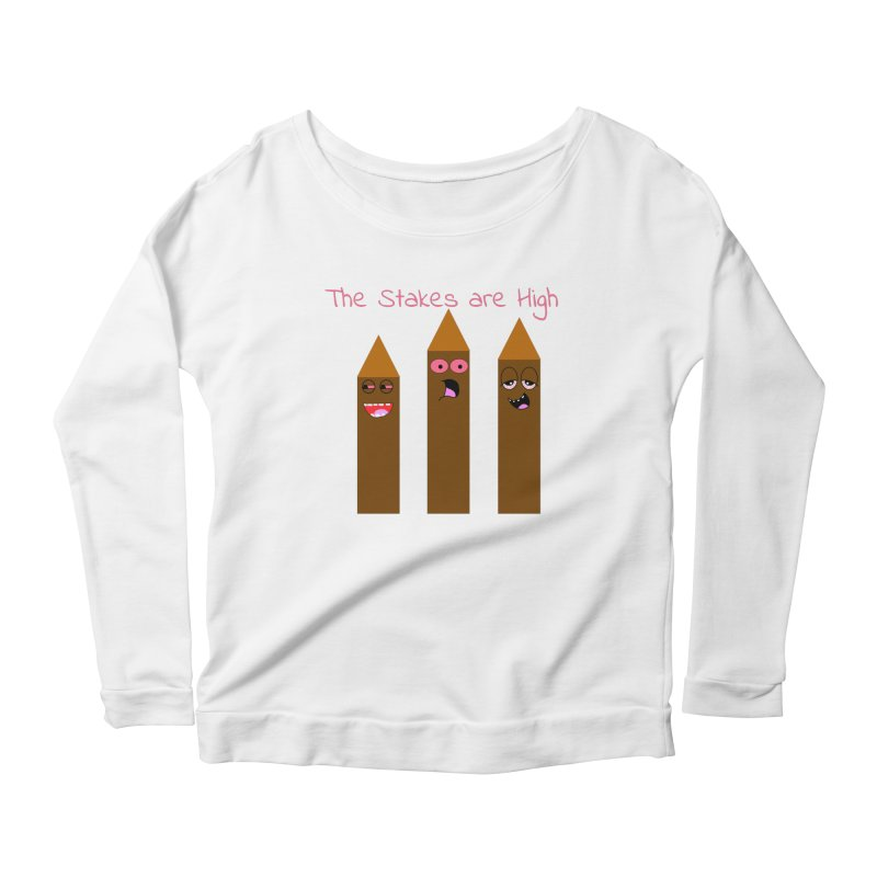 High Stakes Women's Longsleeve T-Shirt by Birchmark