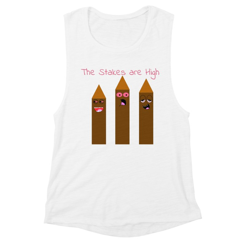 High Stakes Women's Muscle Tank by Birchmark